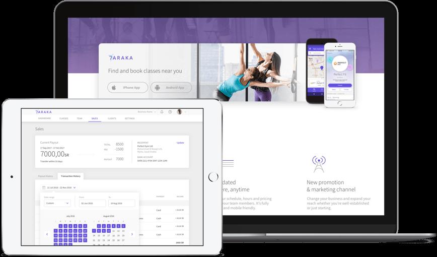7Araka - Fitness Booking Platform | Software Brothers