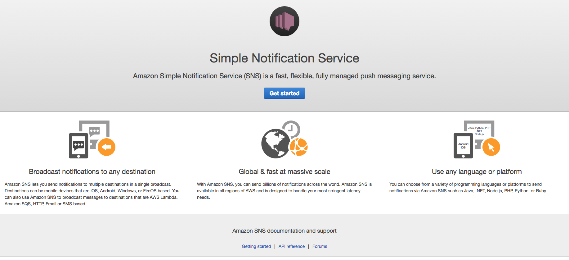 AWS SNS - Mobile Push Notification Service for Ruby on Rails