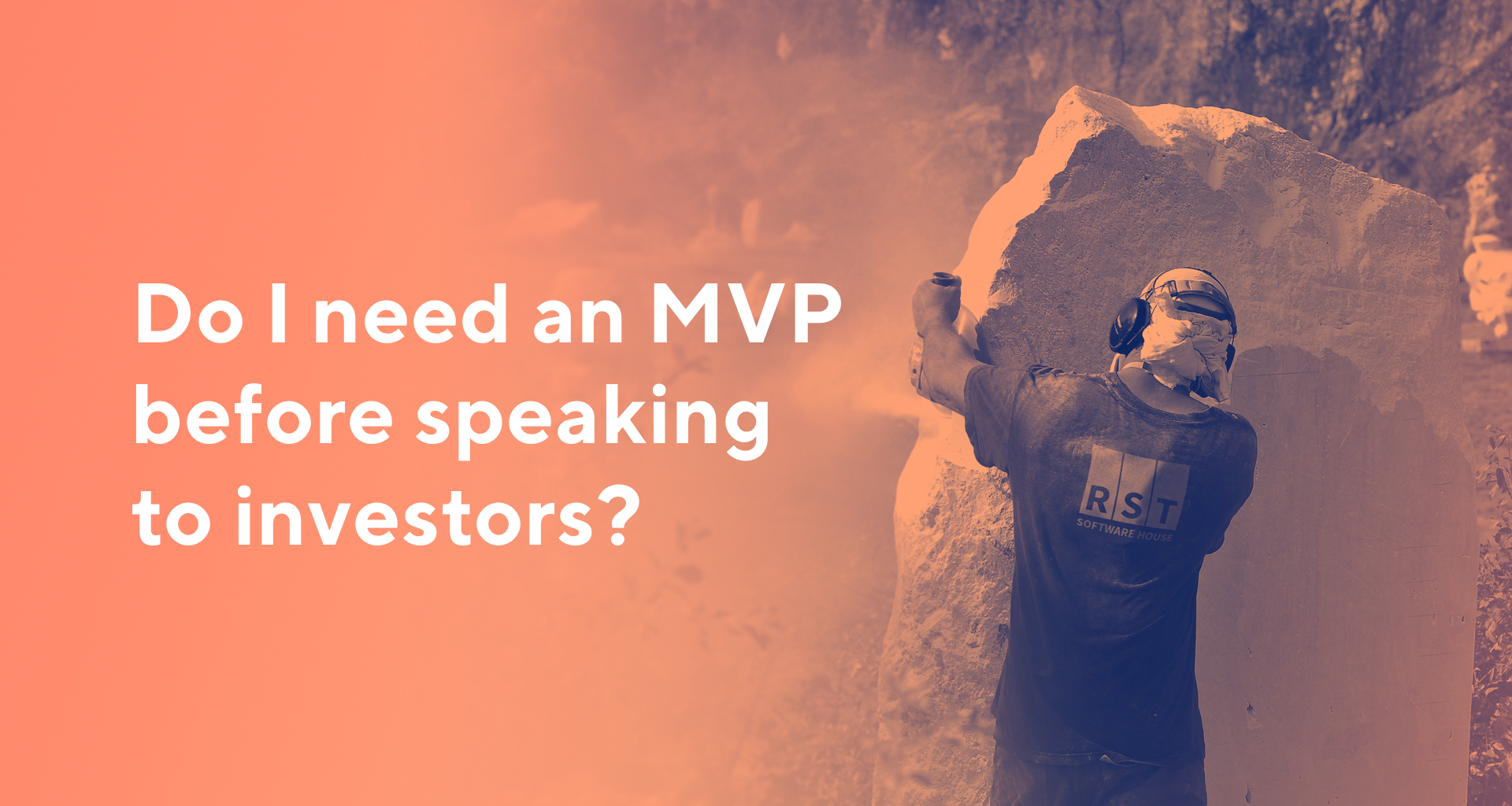 Do I need an mvp for tech startup before speaking to investors?