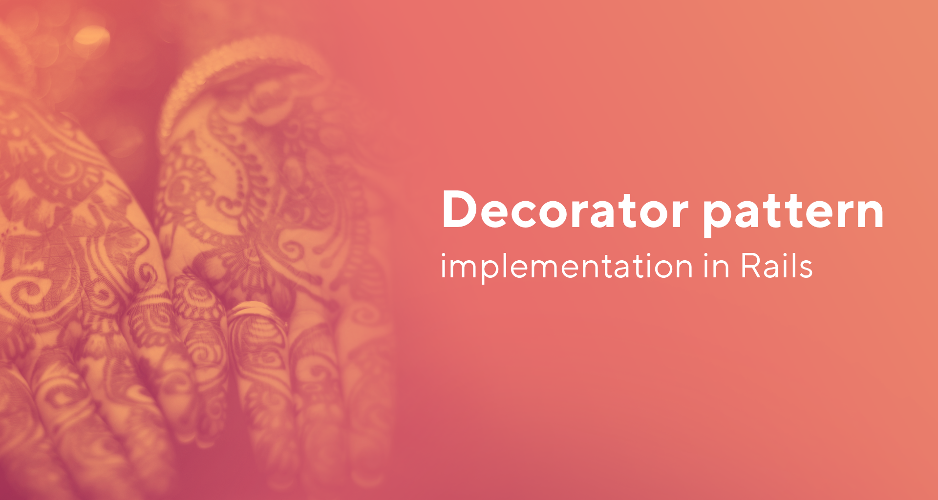 Simple decorator pattern implementation in rails